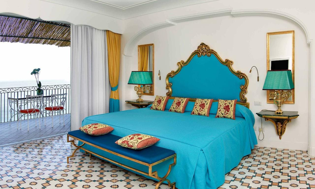 Bedroom at Hotel Il San Pietro di Positano