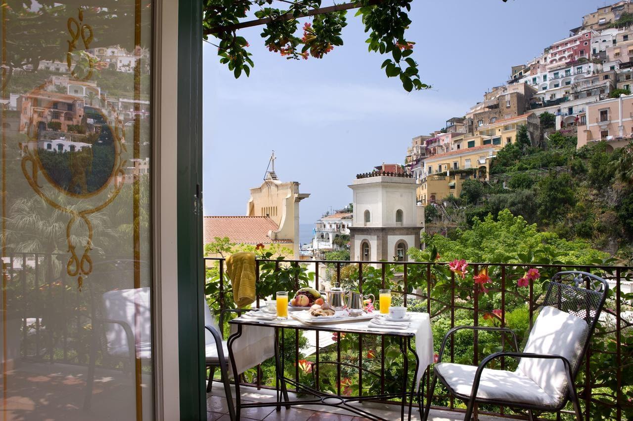 View from Hotel Palazzo Murat, Positano