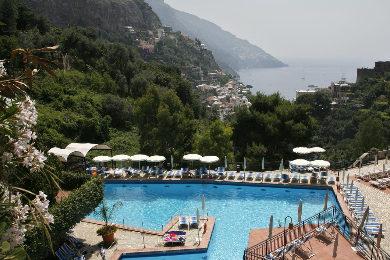Swimming pool at Hotel Royal Positano