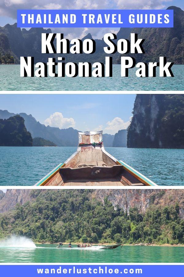 Visiting Khao Sok National Park, Thailand