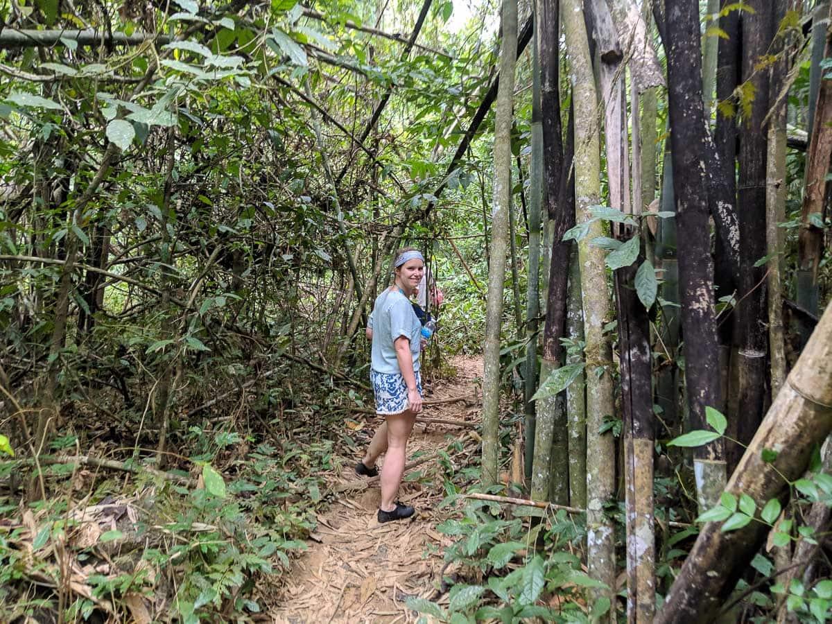 Nam Talu Cave hike, Khao Sok National Park