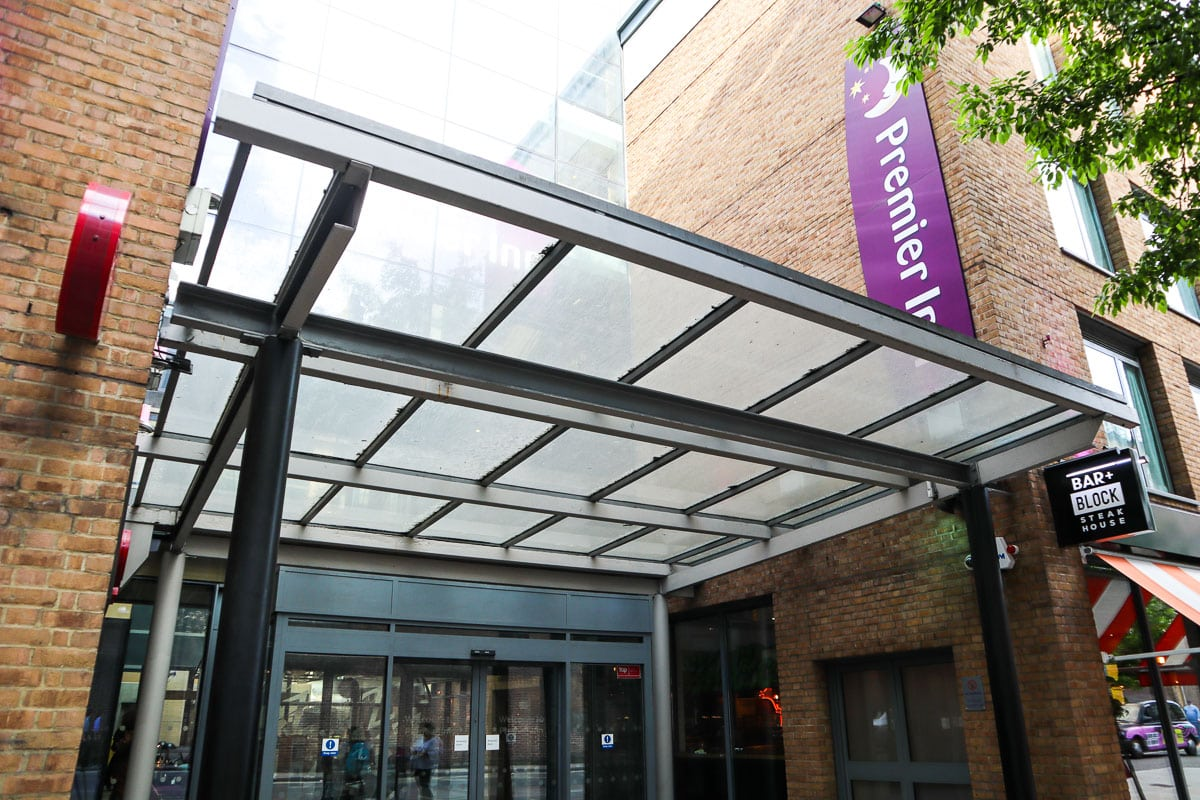 Premier Inn, King's Cross, London