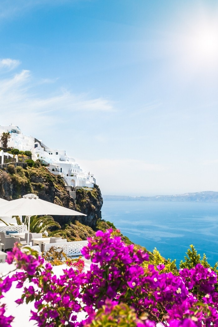 Beautiful view in Santorini