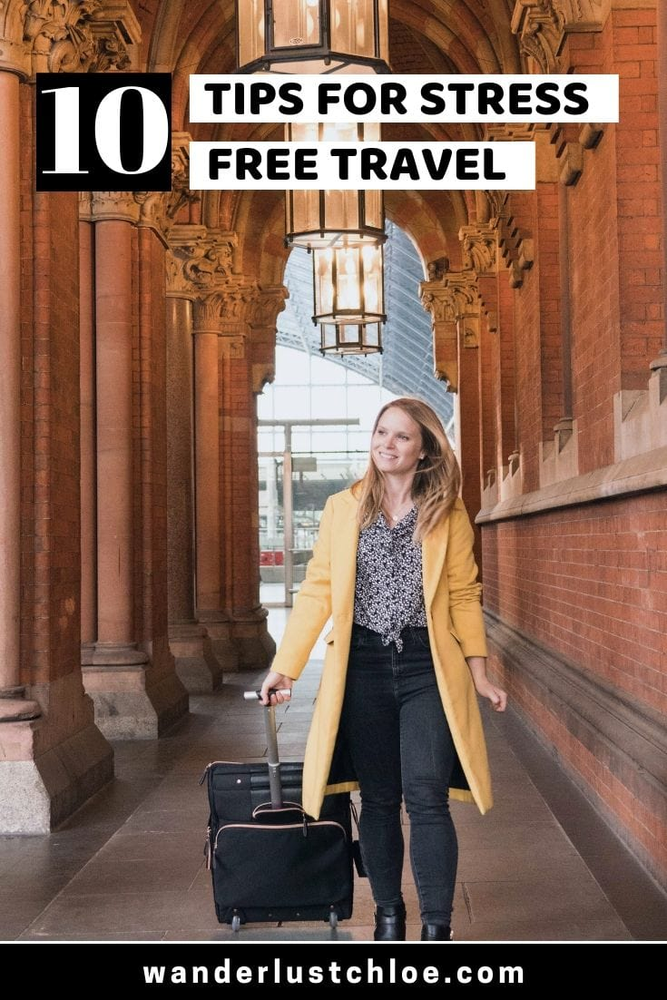 10 Tips for stress free travel