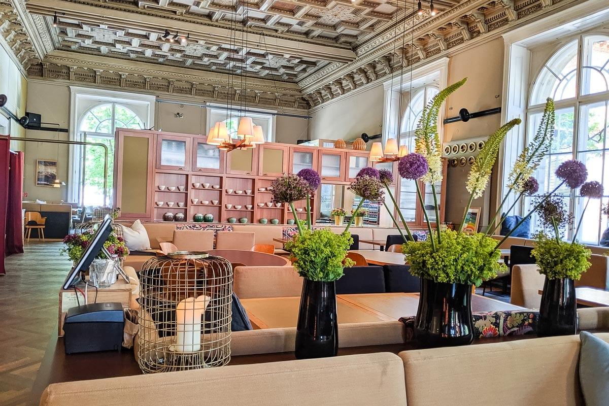 Beautiful interiors at Salonplafond, Vienna