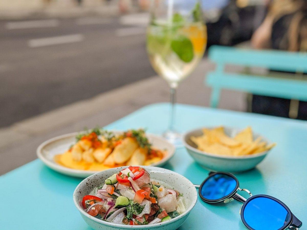 Dinner at Die Rundbar, Vienna