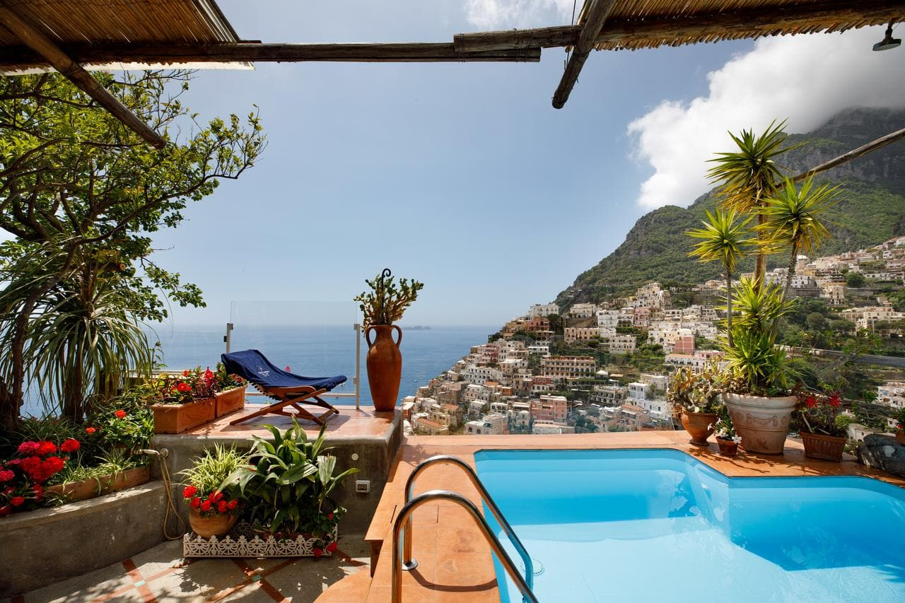 One of the best hotels in Positano - Villa Fiorentino, Positano