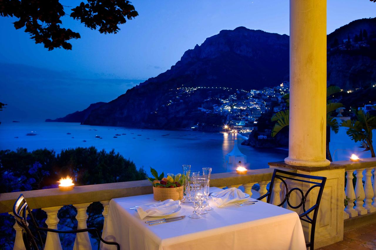 View from the restaurant at Villa Treville, Positano