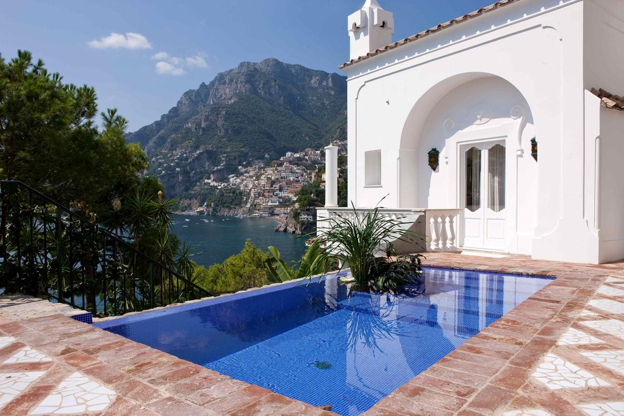 Cute pool at Villa Treville, Positano