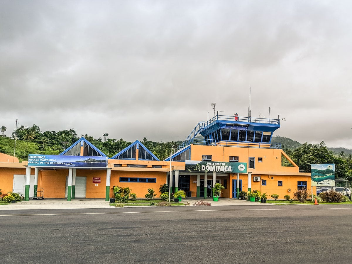 Douglas–Charles Airport, Dominica