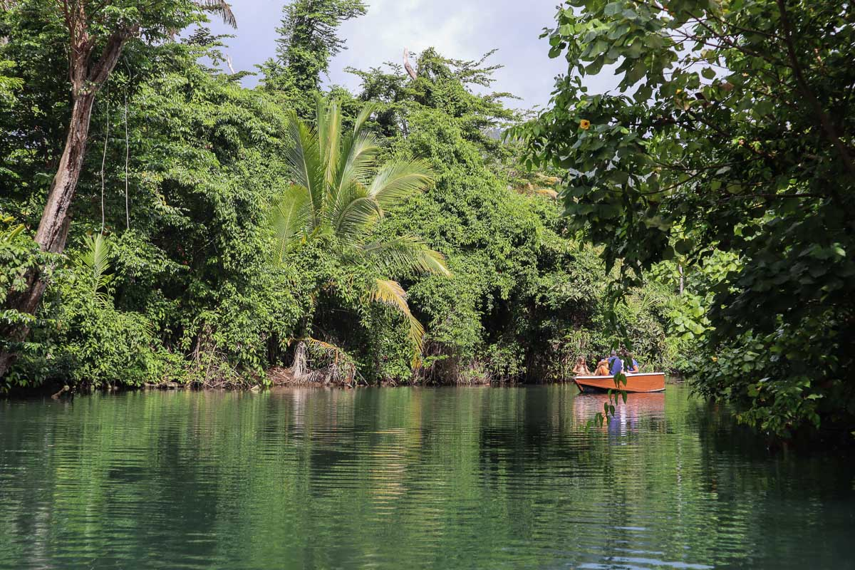 Indian River Safari, Dominica