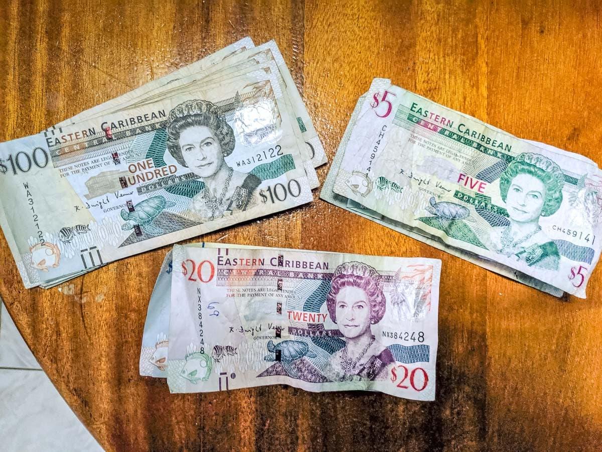 Dollars des Caraïbes orientales