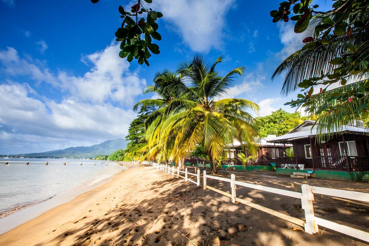 Picard Beach Cottages, Dominica (credit: Picard Beach Cottages)