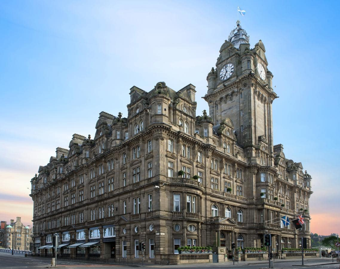 5 star luxury at The Balmoral Hotel, Edinburgh