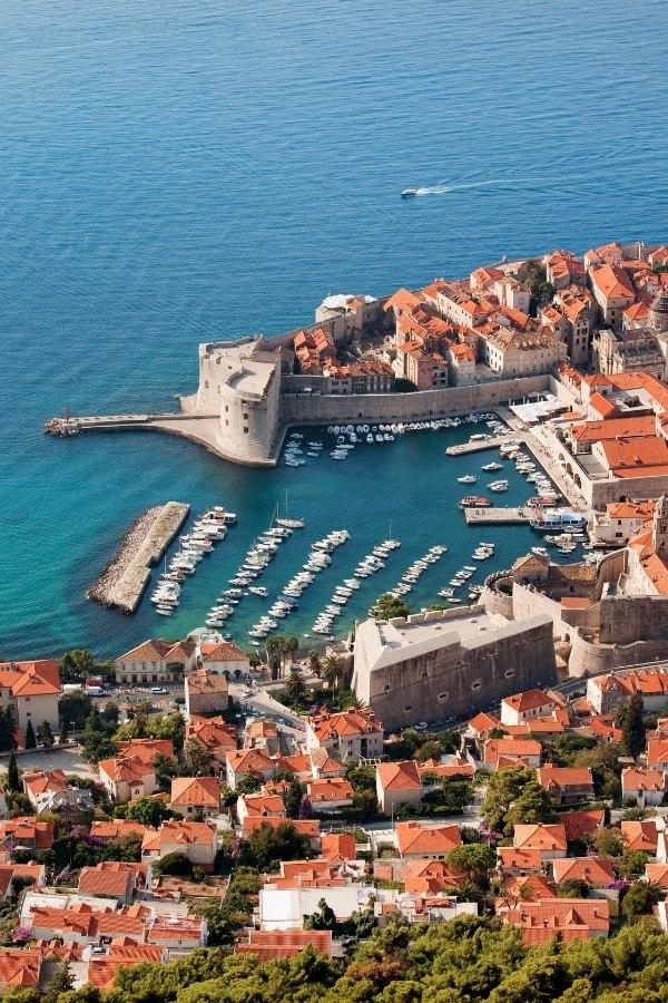 Beautiful city of Dubrovnik