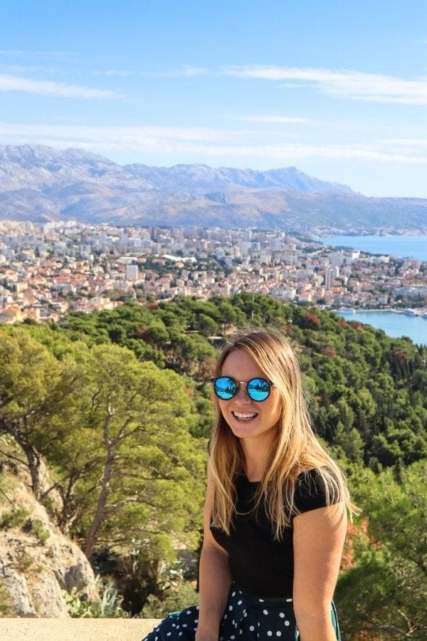 Enjoying Split in Croatia