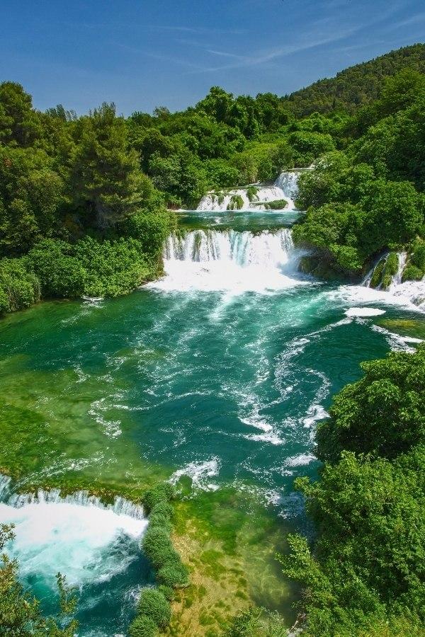 Krka Waterfalls are really impressive