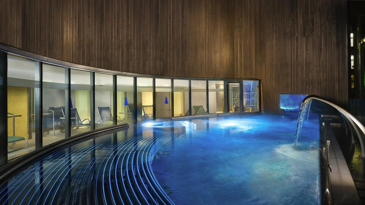 Pool at the Sheraton Grand Hotel & Spa, Edinburgh