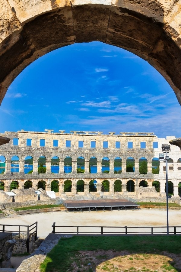 Pula Amphitheatre has to be on your Croatia itinerary