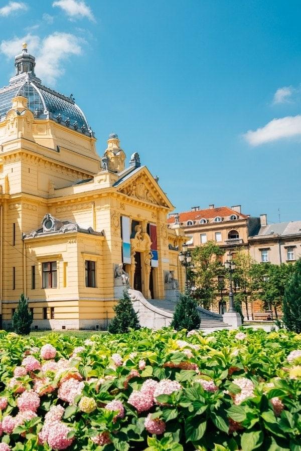 Art Pavillion in Zagreb