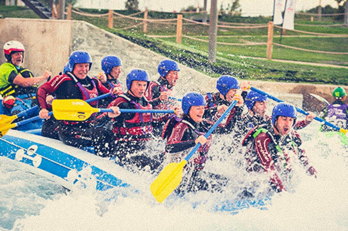 Lee Valley White Water Rafting