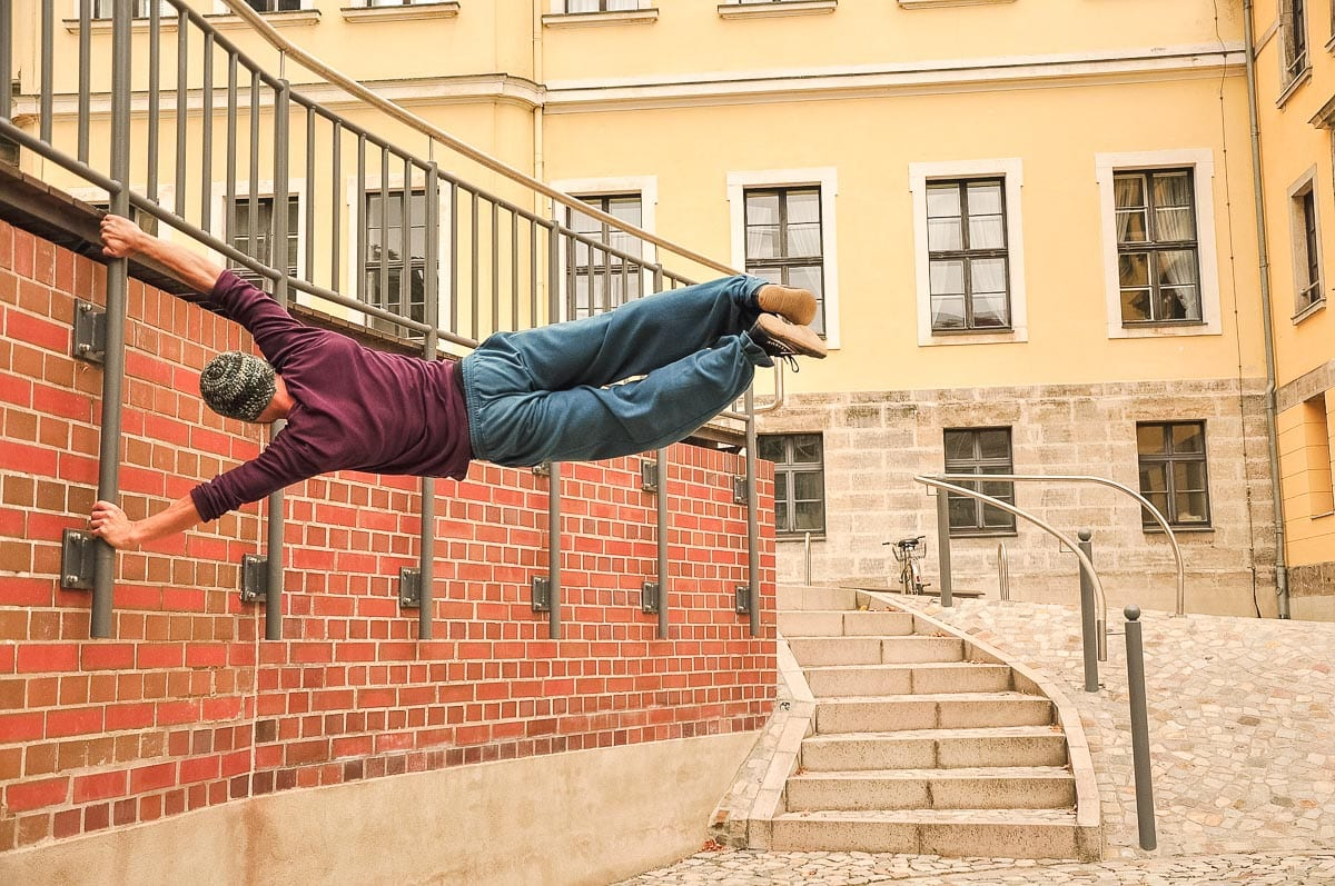 Parkour in London