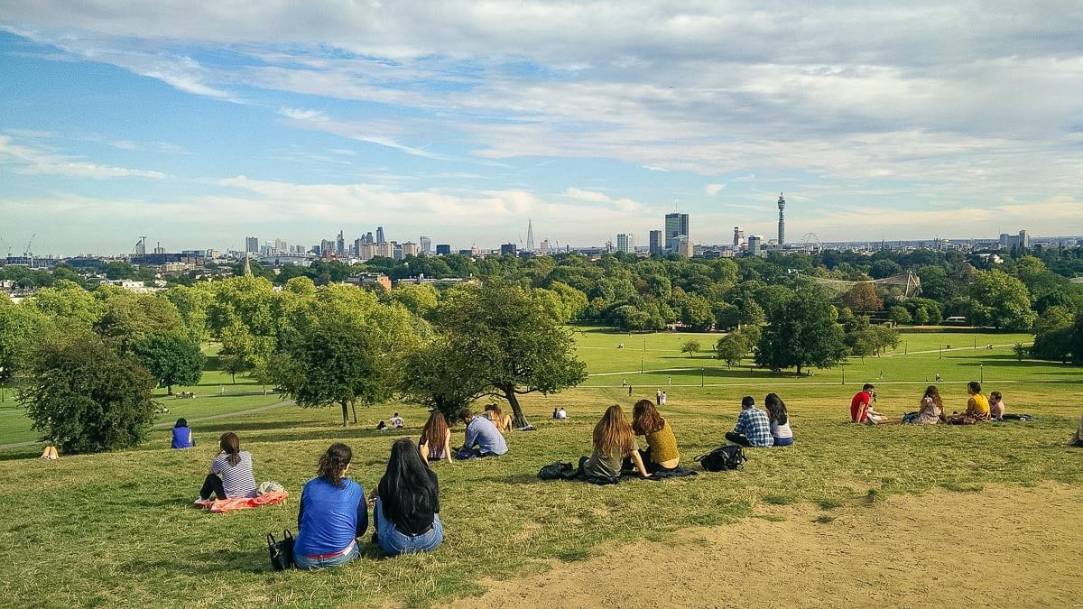 Primrose Hill - the best view of London
