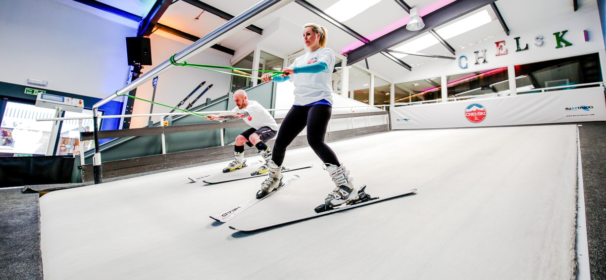 Chel-ski - among the most unusual things to do in London