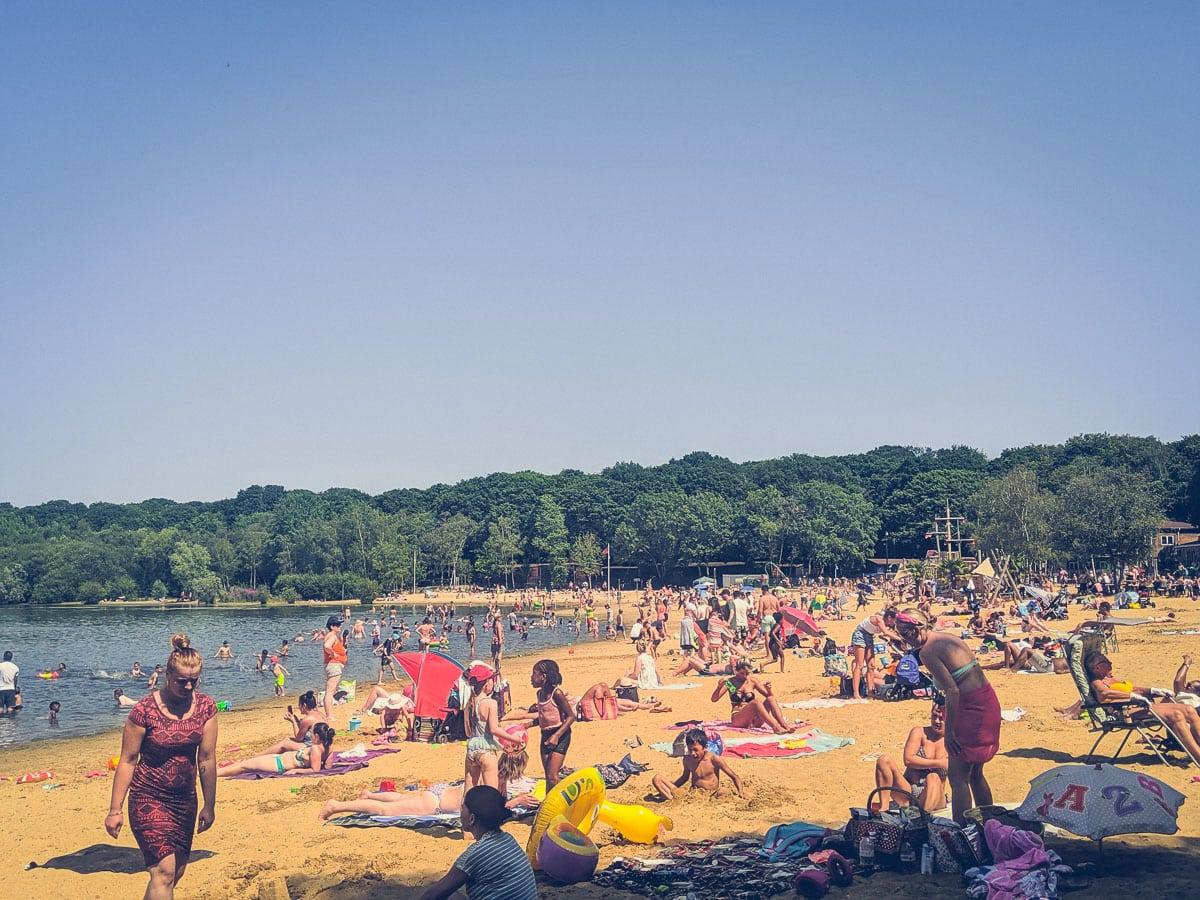 Ruislip Lido - Beach in London