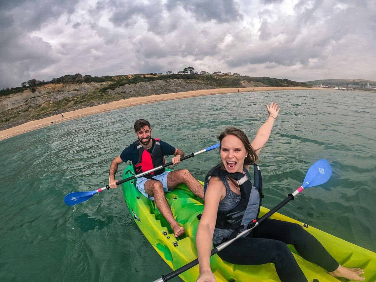 Kayaking in Weymouth