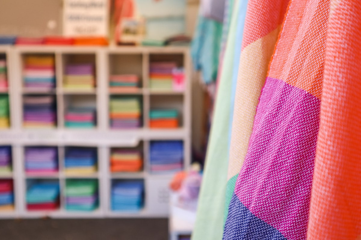 Colourful Foutala towels for sale