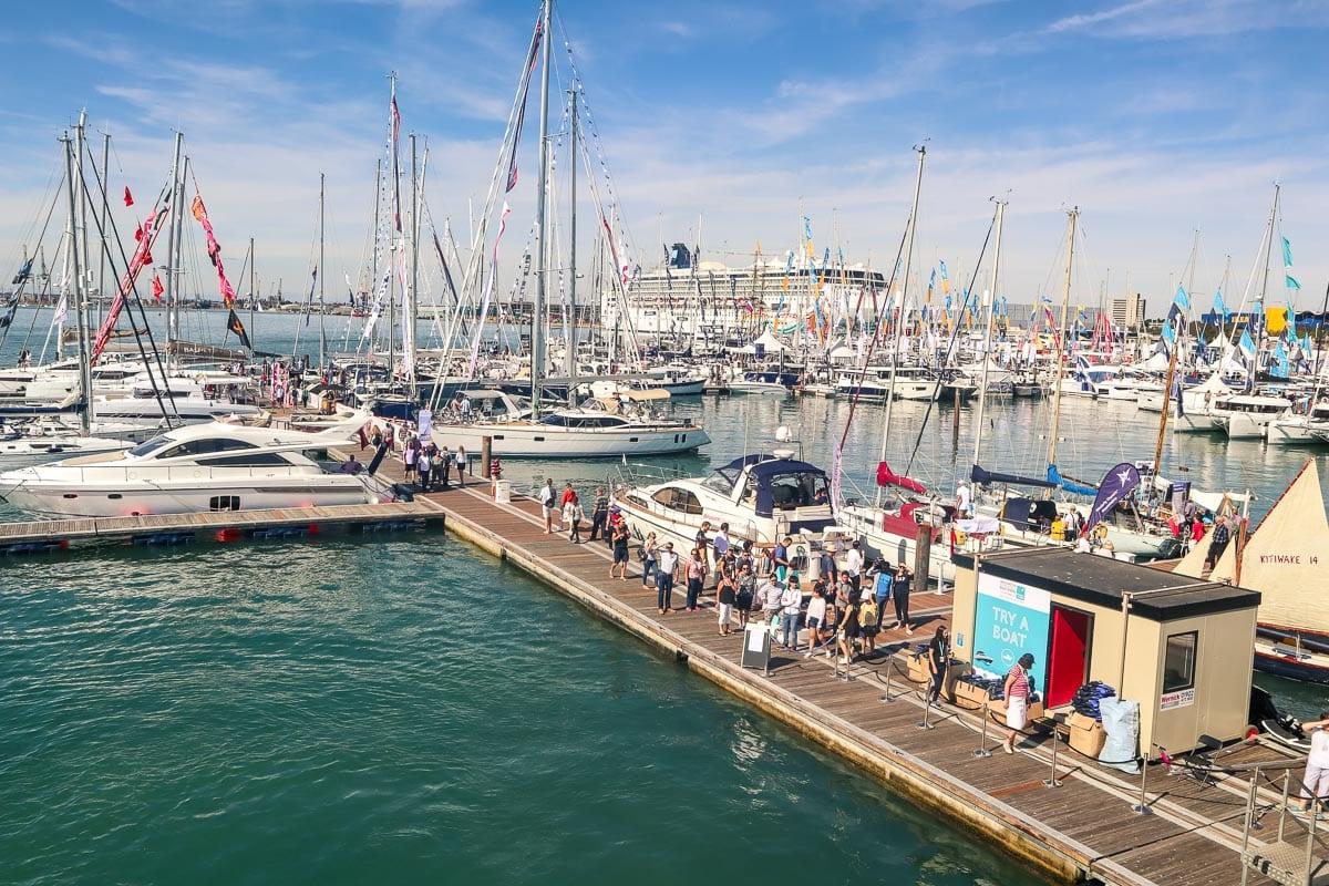 The Southampton International Boat Show