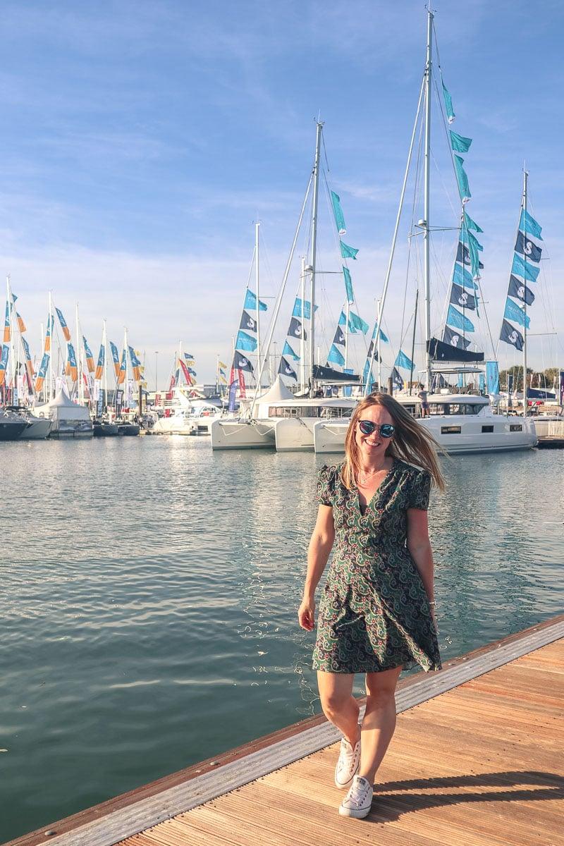 Enjoying the Southampton Boat Show