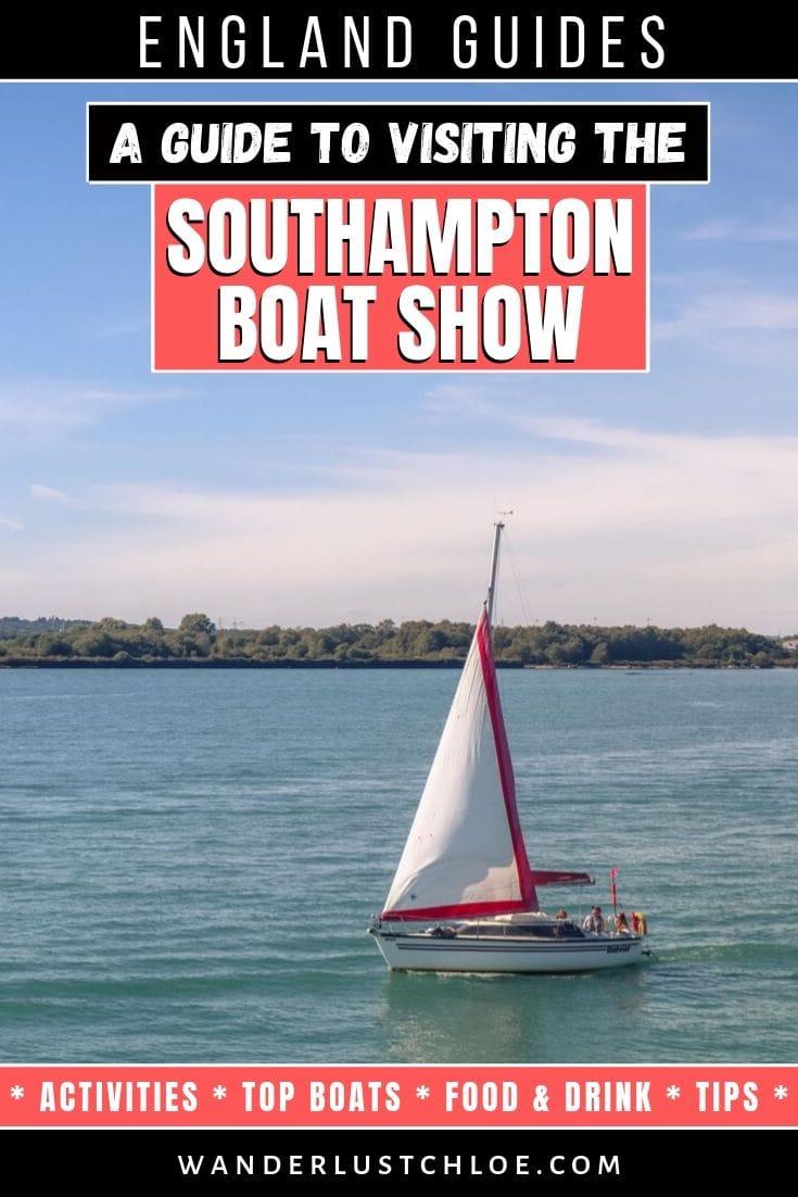 Visiting The Southampton International Boat Show