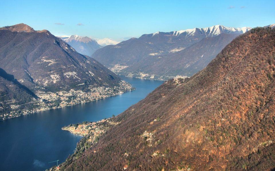 Lake Como helicopter tour