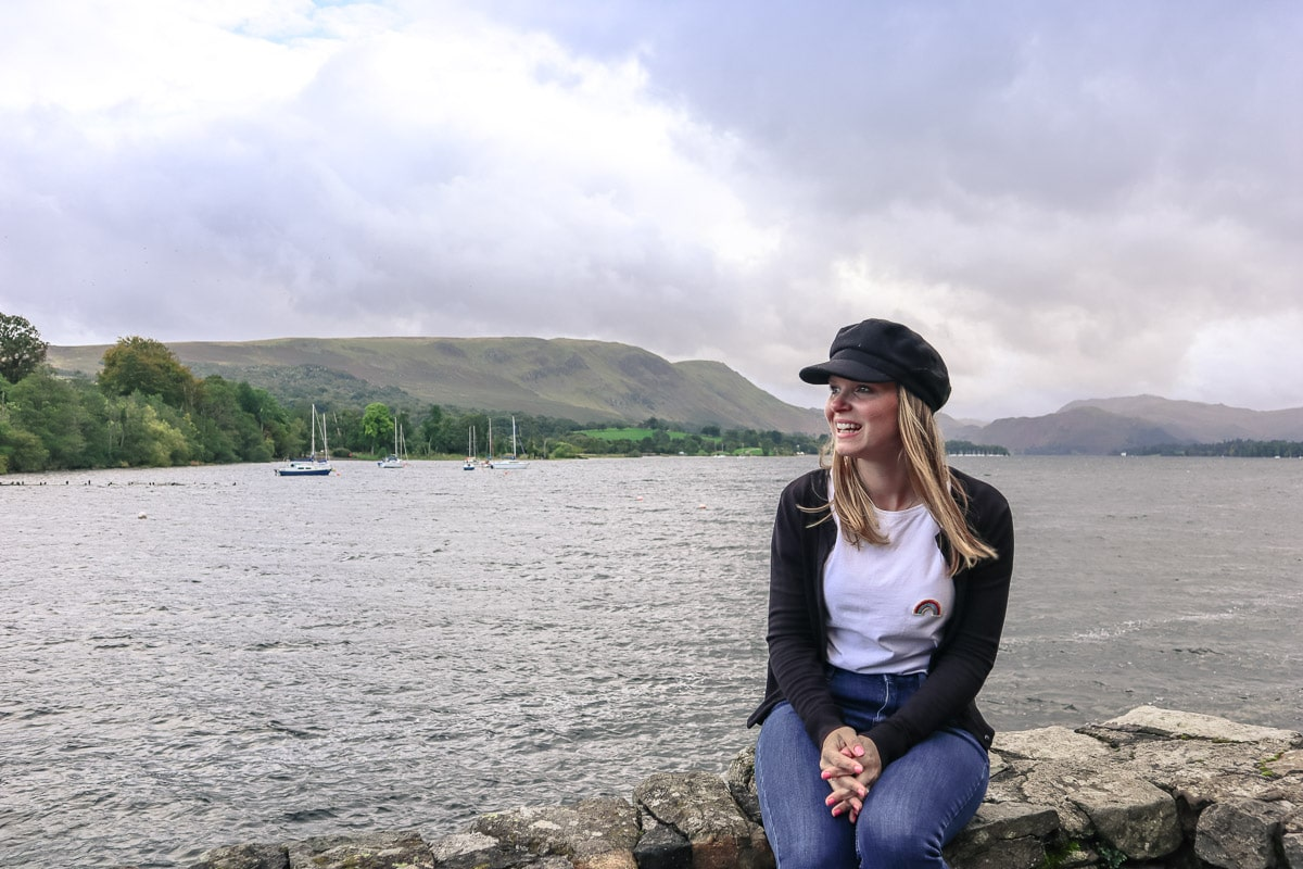 Exploring Pooley Bridge, Ullswater