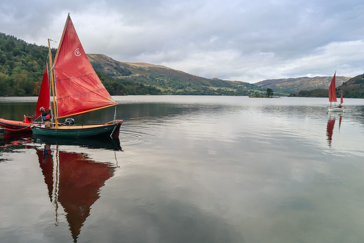 Sailing in Glenridding, Ullswater