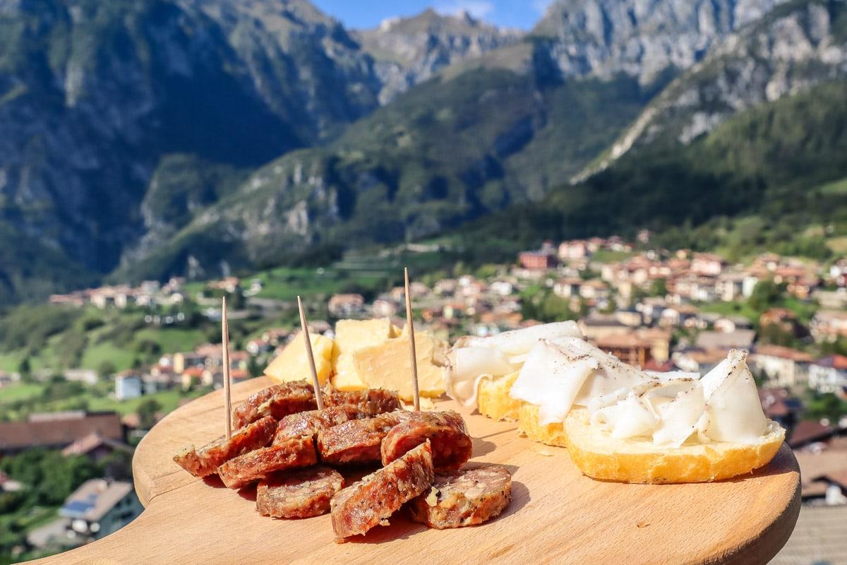 Ciuiga sausage in Italy