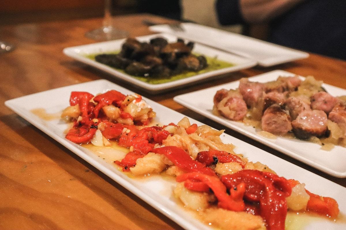 Tapas on our Valencia food tour