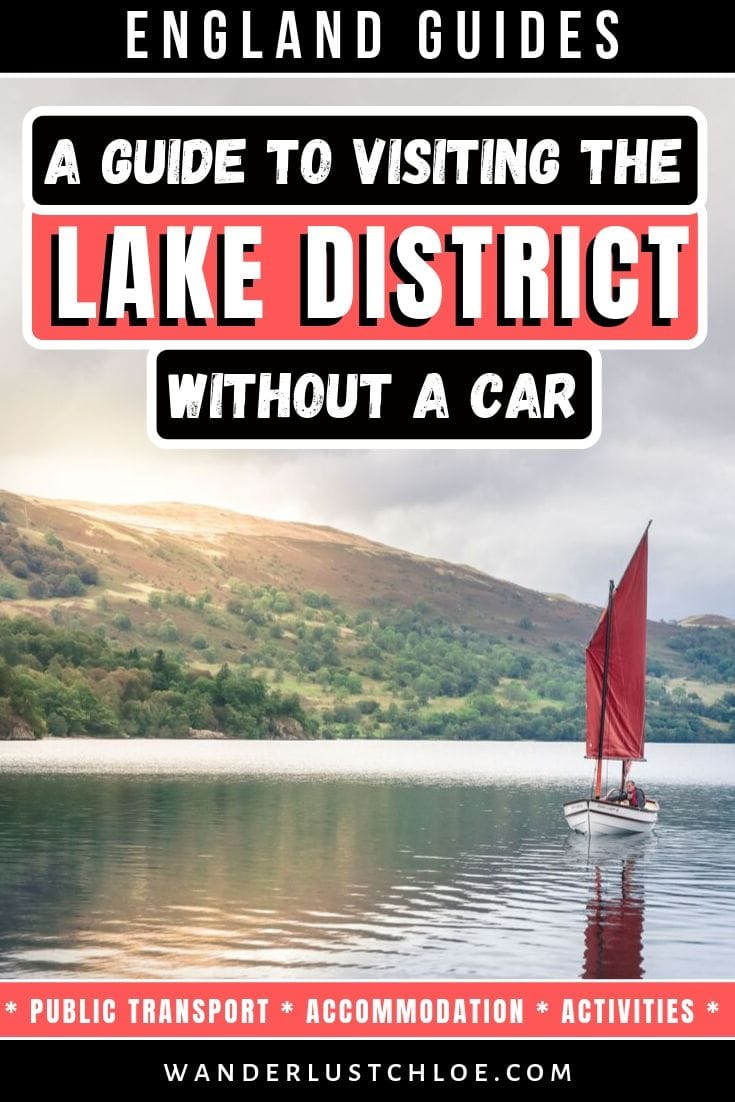 Visiting The Lake District Without A Car