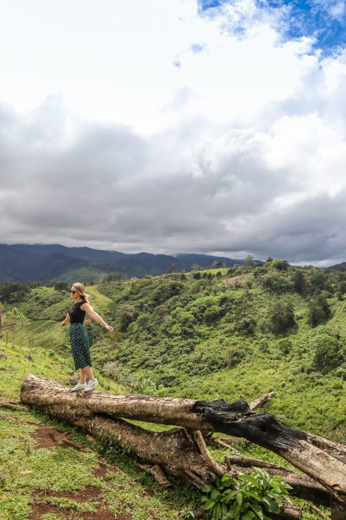 Enjoying the exciting landscapes in Costa Rica