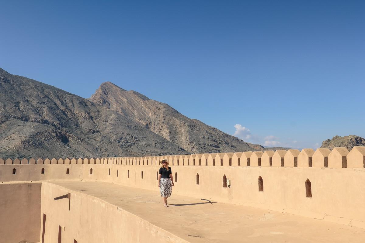 Exploring Rustaq Fort, Oman