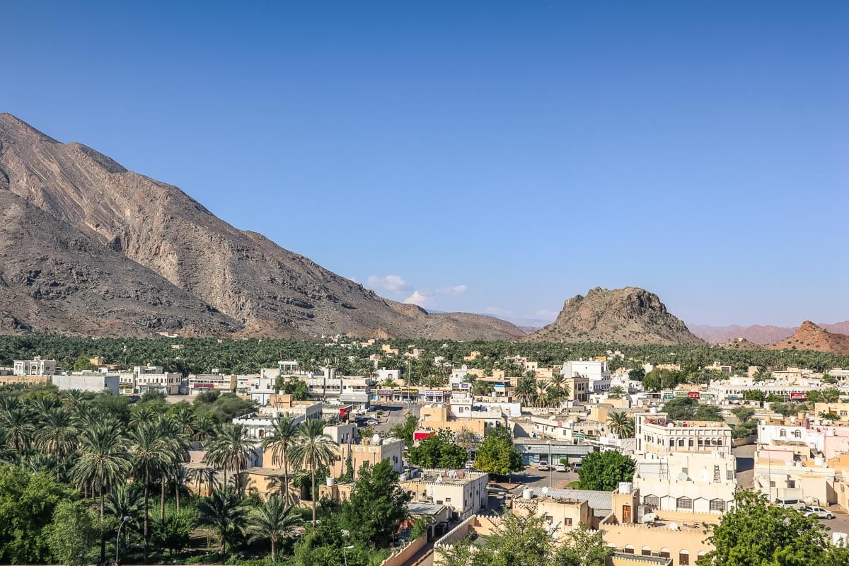 View of Rustaq, Oman