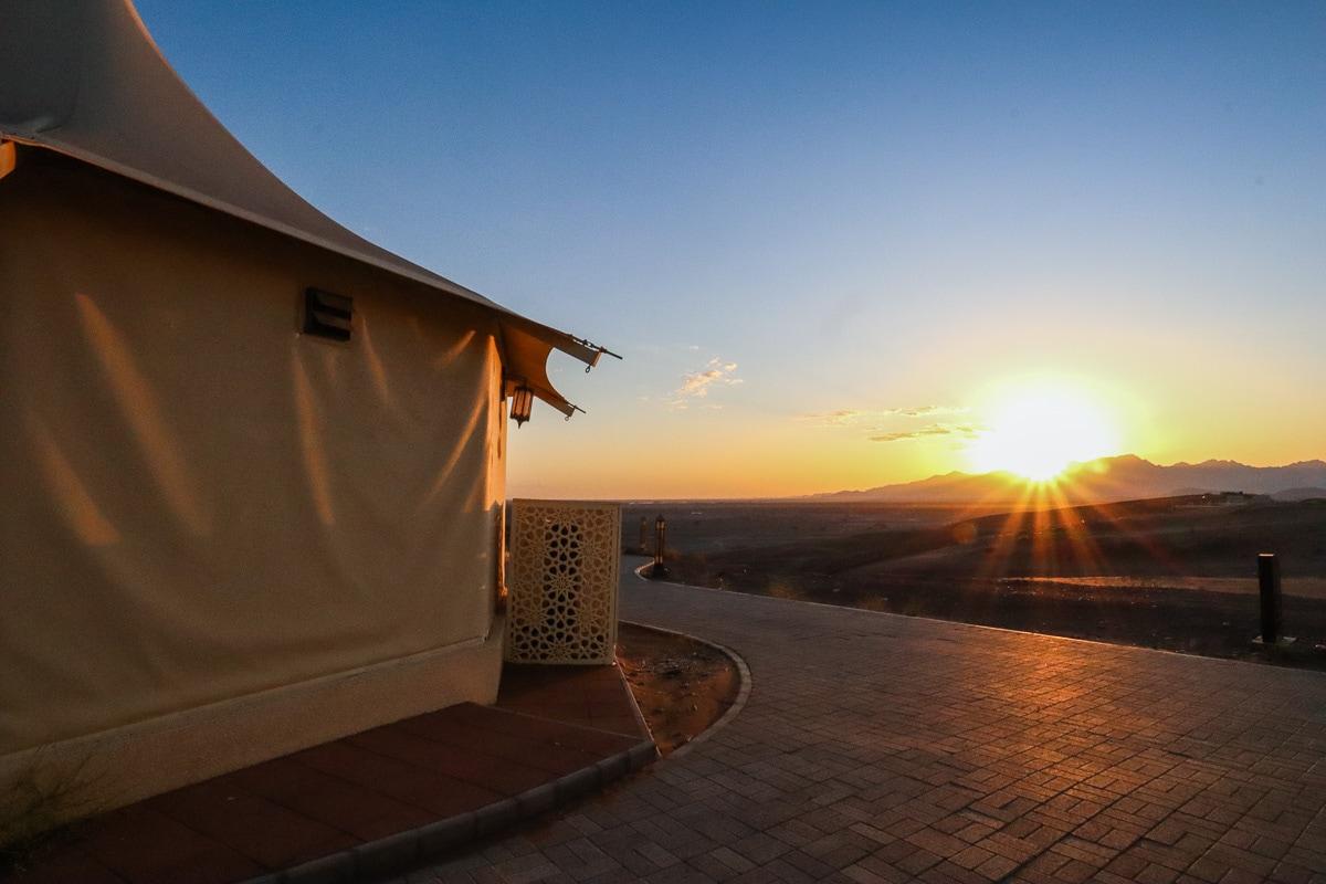 Sunrise at Dunes by Al Nadha