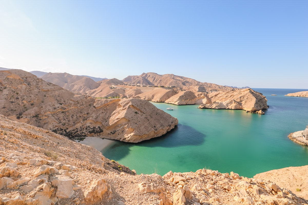Beach near Muscat in Oman