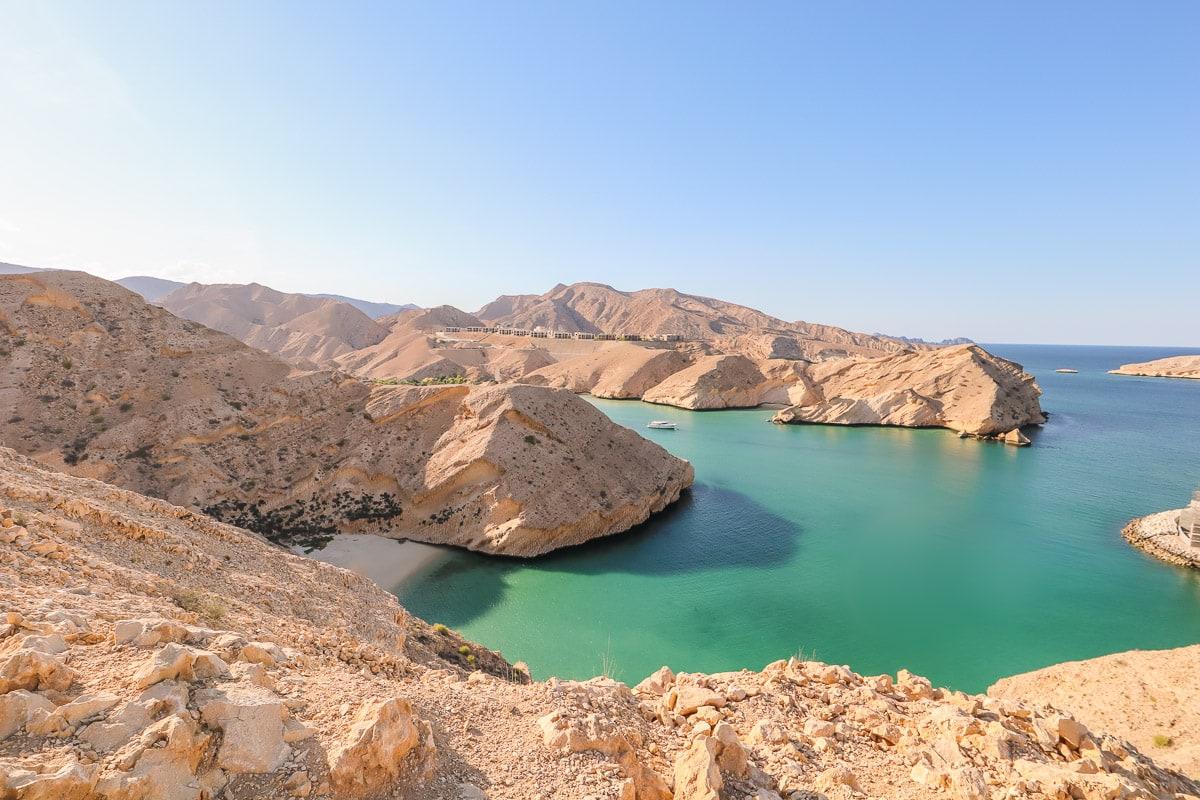 Beach near Muscat in Oman