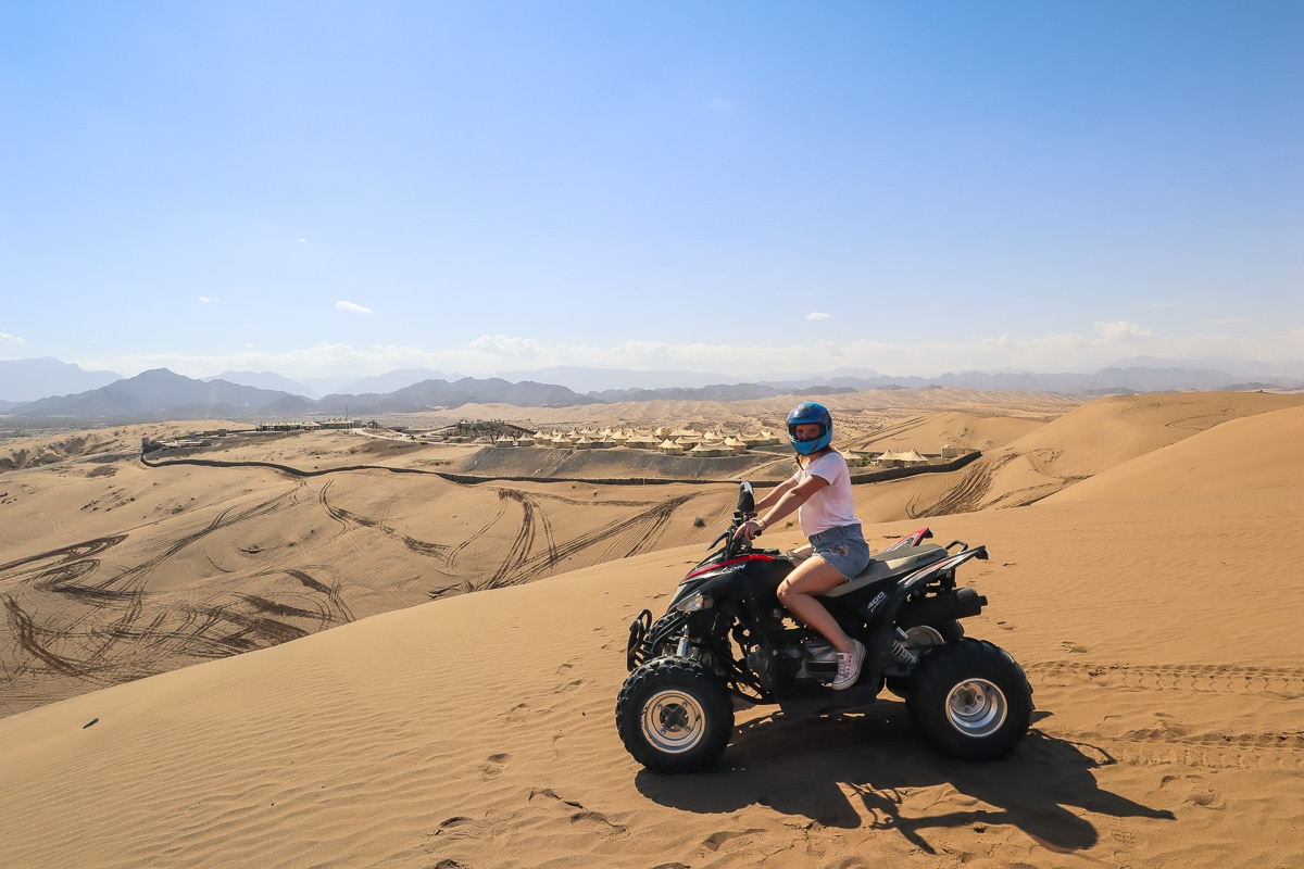 Quad biking in Oman