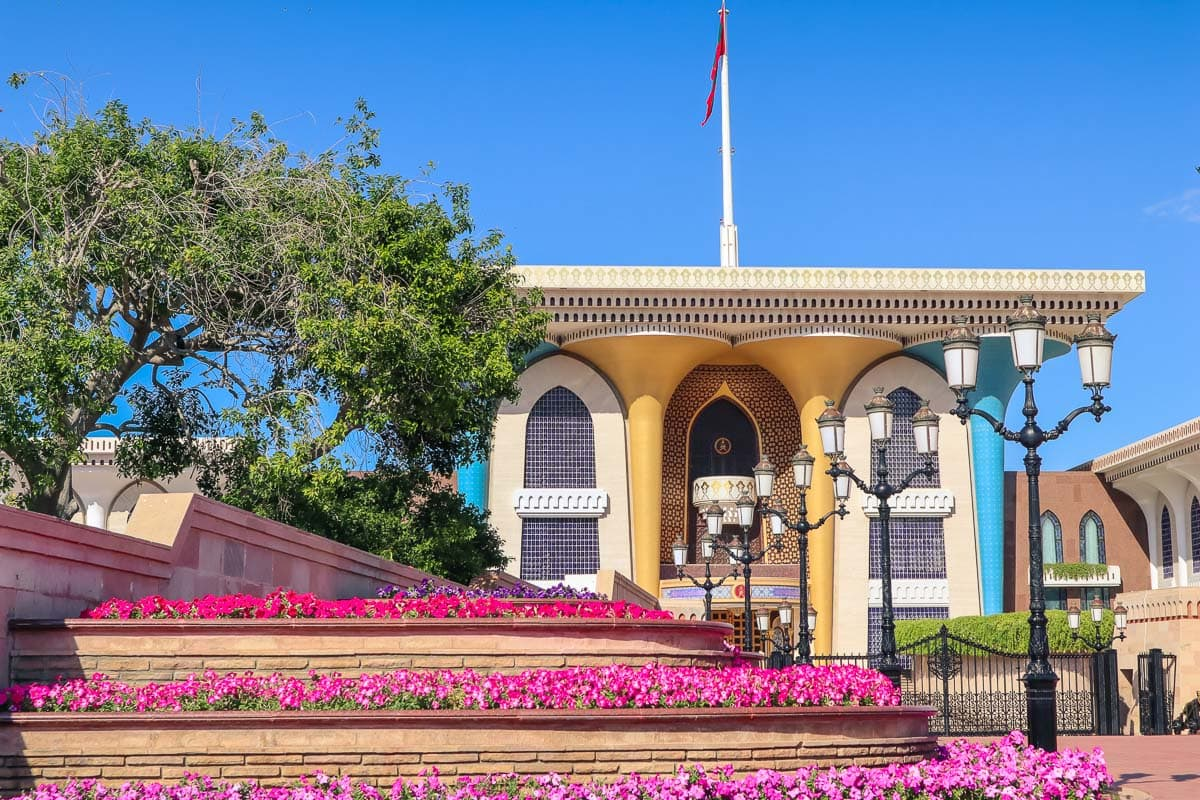 Sultan's Palace (Al Alam Palace) Muscat