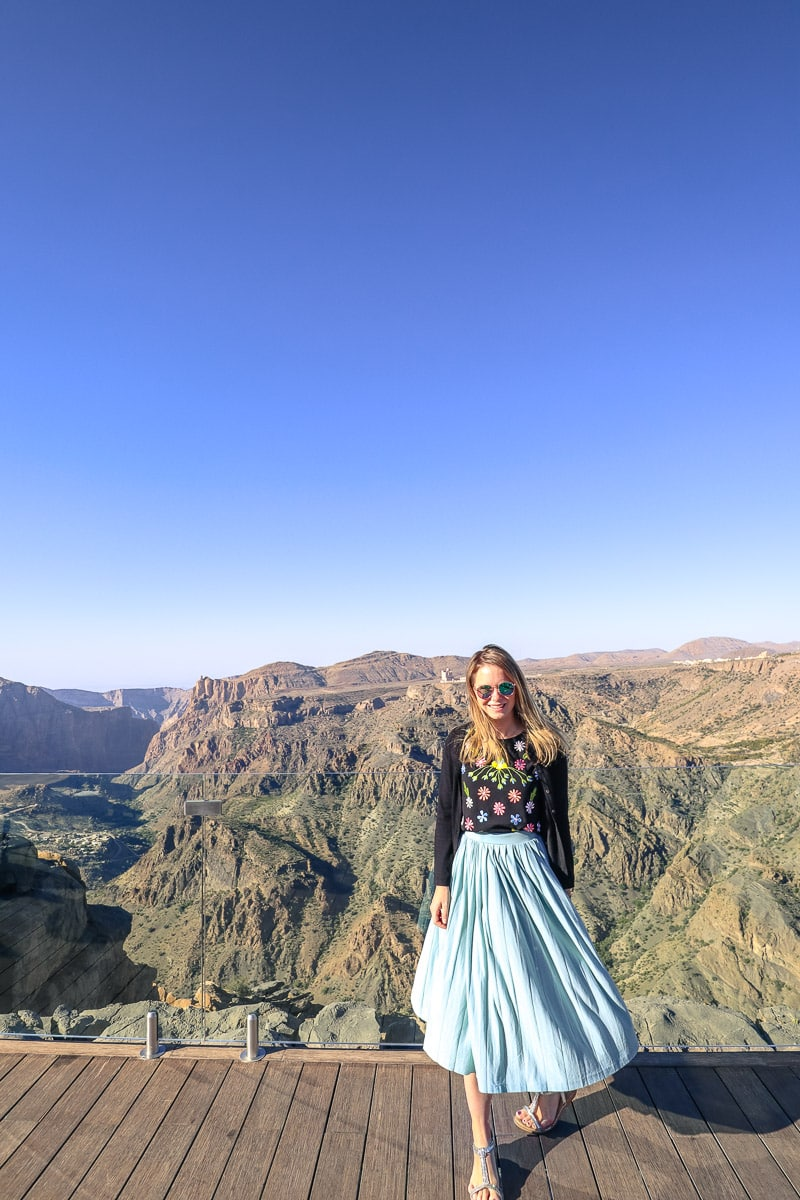 Views from Diana's Point at Pool at Anantara Al Jabal Al Akhdar Resort