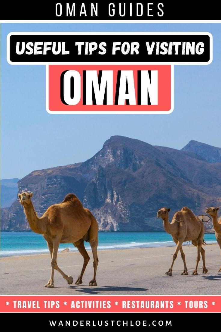 Useful Tips For Visiting Oman